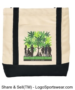 Grow the Middle Class Tote Bag Design Zoom