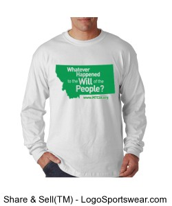 Whatever Happened to the Will of the People Long Sleeved T-Shirt Design Zoom