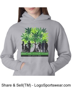 Growing the Middle Class Hoodie Design Zoom