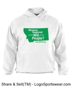 Will of the People Sweatshirt Design Zoom