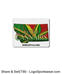 Yes We Cannabis Mouse Pad Design Zoom